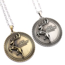 Buy 6/PCS MS Jewelry Game Thrones Choker Necklace Song ice fire Targaryen Pendant Men Women Gift Movie Game Accessories for $13.00 in AliExpress store