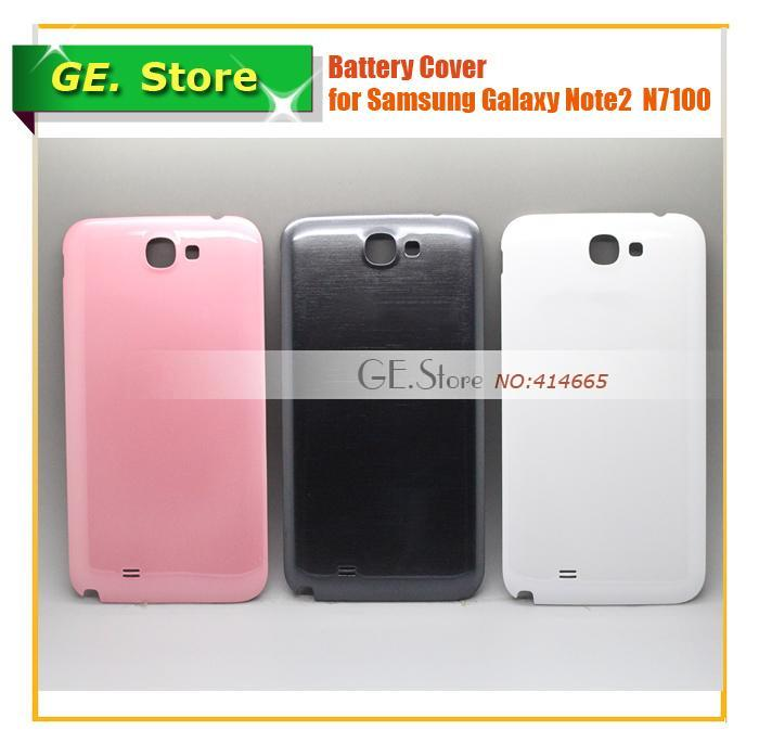 Original Replacement note2 Back Cover Battery Door housing Samsung Galaxy noteii N7100 -white gray pink - Gadget Express Store store