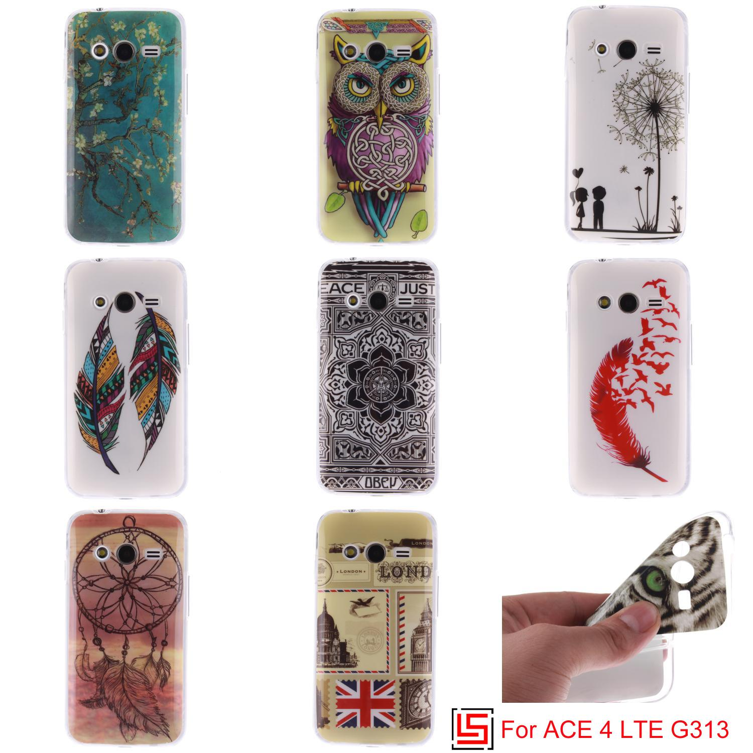 Fashion Ultra Thin TPU Silicone Soft Phone Cell Mobile Case etui carcasa Cover For Samsung Galaxy ACE 4 LTE G313H G 313 SM-G313(China (Mainland))
