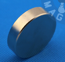 N52 NdFeB Magnet Disc Dia40x10 mm 1.57 inch 20 KG Pulling Super Strong Neodymium Permanent Rare Earth Magnets NiCuNi - Hurricane Magnets&Materials Engineering store
