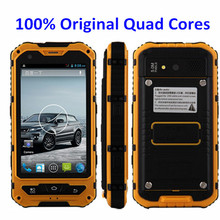 Original A8 IP68 outdoor phone MTK6582 1GB RAM 8GB ROM 5MP Quad Core Android4.2 Waterproof phone shockproof 3G GPS A9 V8 Z6 F6(China (Mainland))