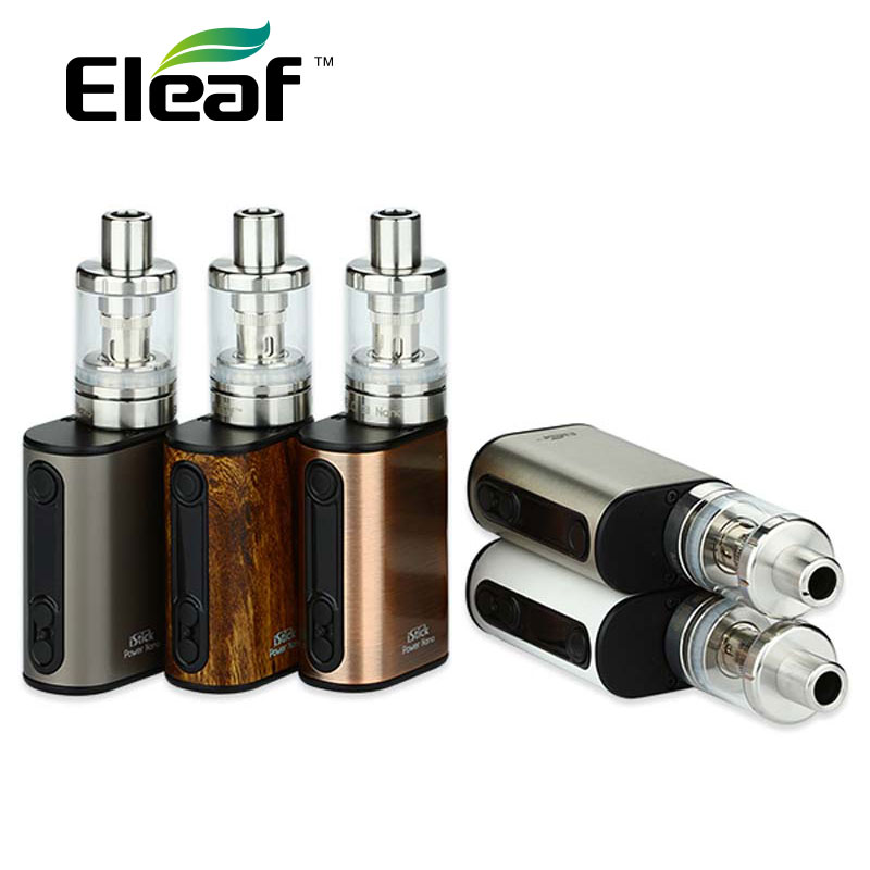 Original Eleaf iStick 40W Power Nano Kit w/ 1100mAh Power Nano Battery Box Mod Melo 3 Nano Atomizer 2ml Vape vs Istick Nano Mod