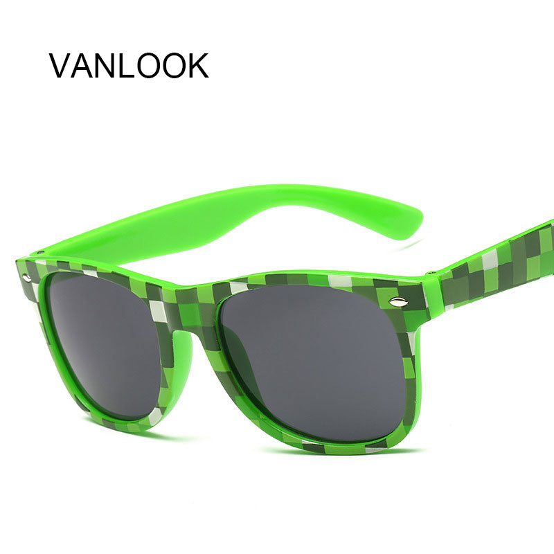 Maynkraft Sunglasses Pixel Glasses Blue Green Purple Puzzle Sun Points