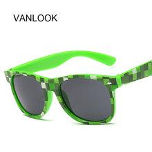 Minecraft gafas de sol gafas Pixel verde azul púrpura Pixel rompecabezas Sun puntos