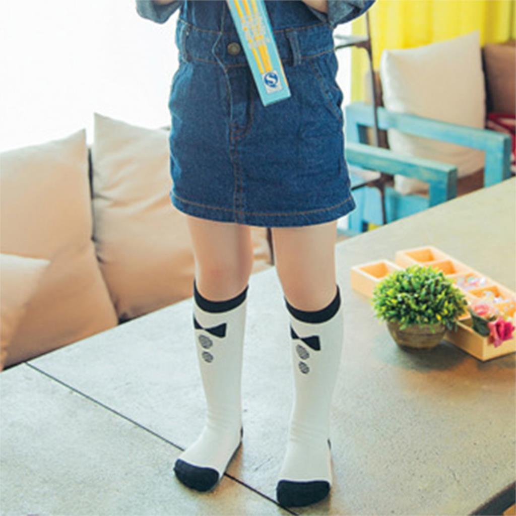 Cartoon Kid Knee High Socks Cute Brand Design Children Girls Sock Baby Leg Warmers Toddler Knee High Kawaii Socks 2015