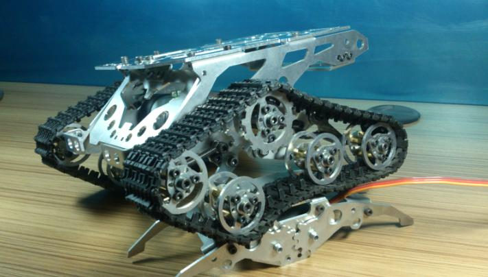 DIY 499 AlloyTank chassis/tracked car for remote control/robot parts for maker DIY/development kit<br><br>Aliexpress