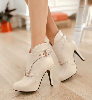 White Short Heels Promotion-Shop for Promotional White Short Heels