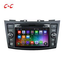 1024×600 Quad Core Android 4.4 Dvd-плеер Автомобиля для Suzuki SWIFT 2011-2012 с GPS Радио Встроенный DVR, поддержки OBD Зеркало Ссылка