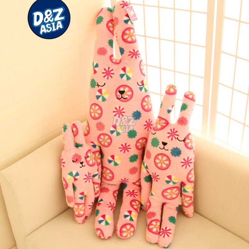 BabyColor Candy rainbow sugar bear cute plush doll pink rabbit fruit plush toys(China (Mainland))