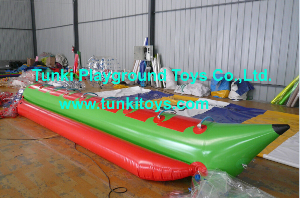 manufacturer and supplier inflatable banana boat(China (Mainland))