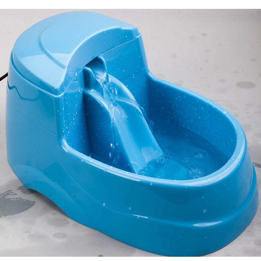 110-230V Electric Pet Water Feeder Dog Fountain Waterfall Automatic Pet Drinker Bowl(China (Mainland))