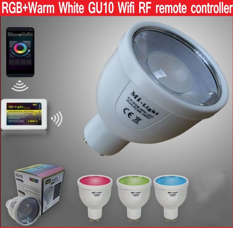 Mi Light WIFI controller RGB+Warm White Dimmable LED Light - ขายส่ง