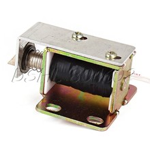 New Cabinet Door Electric Lock Assembly Solenoid DC 12V 1.5A(China (Mainland))