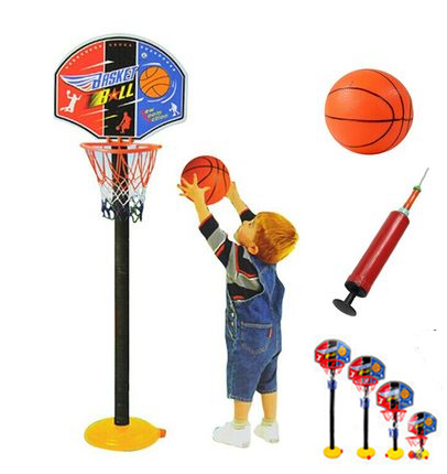 New Arrival Baby Children Sports Toy Sets Basketball Stands Four section height adjustment toys 115cm tall Early Education Toy