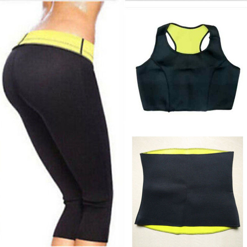Weight Loss Slimming Hot Shapers Pants Belt Jacket Thermo ...
