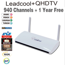Free Shipping Hot Sale Android French & Arabic IPTV Box Free 1 Year 940 HD Live TV IPTV Set Top Box French Apk Account Included