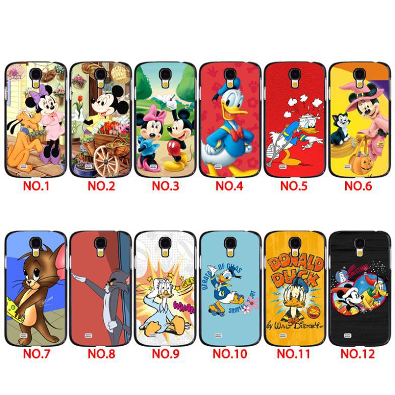 New Arrival Luxury Fashion Colorful Deign Cool Mickey Mouse Cartoon Custom Print Phone Cases Cover For Samsung S3 S4 S5 Mini S6(China (Mainland))