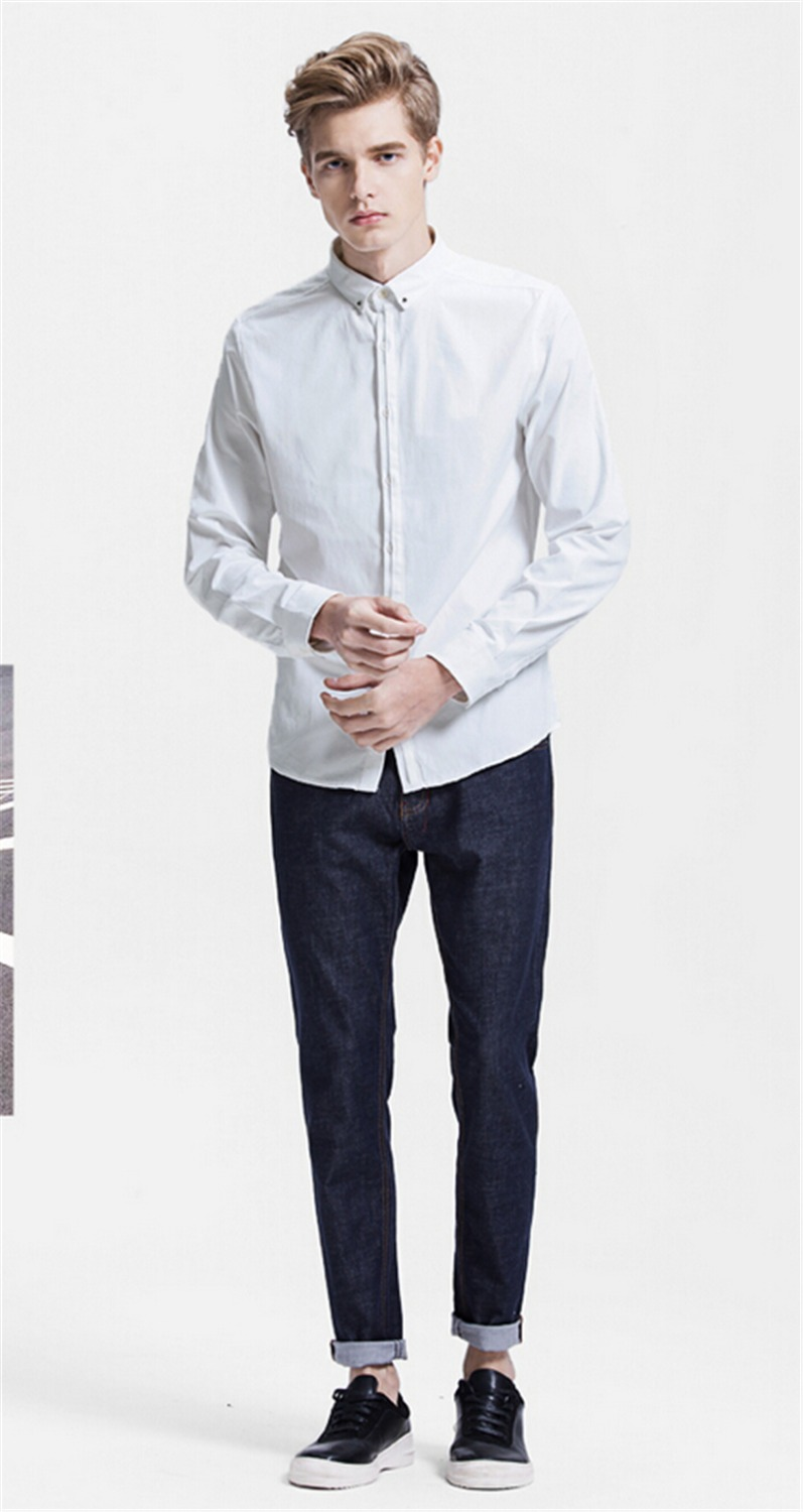 Most popular mens leisure shirts contracted single for Mens dress shirts fashion