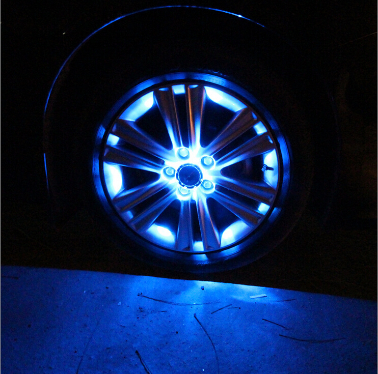 2016 New 4PCS V806 16 Light LED Strobe Solar Car Wheel Light 8 Degree Laser Beam Multicolor Tires Wheels Fire Wheels Night Visio<br><br>Aliexpress