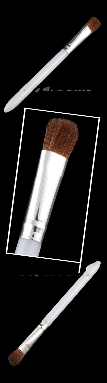 MiniSale Fashionable! Eyeshadow Powder Makeup Minerals Pigment Loose Powder 8# + Brush Underspend!(China (Mainland))