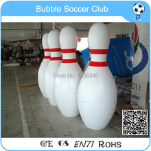Free Shipping inflatable Bowling Pins/ customized inflatable Bowling Pins for event/ inflatable advertising Bowling Pins balloon(China (Mainland))