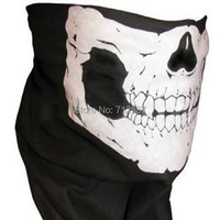 Hot sales Skull Bandana Bike Motorcycle Helmet Neck Face Mask Paintball Ski Sport Headband
