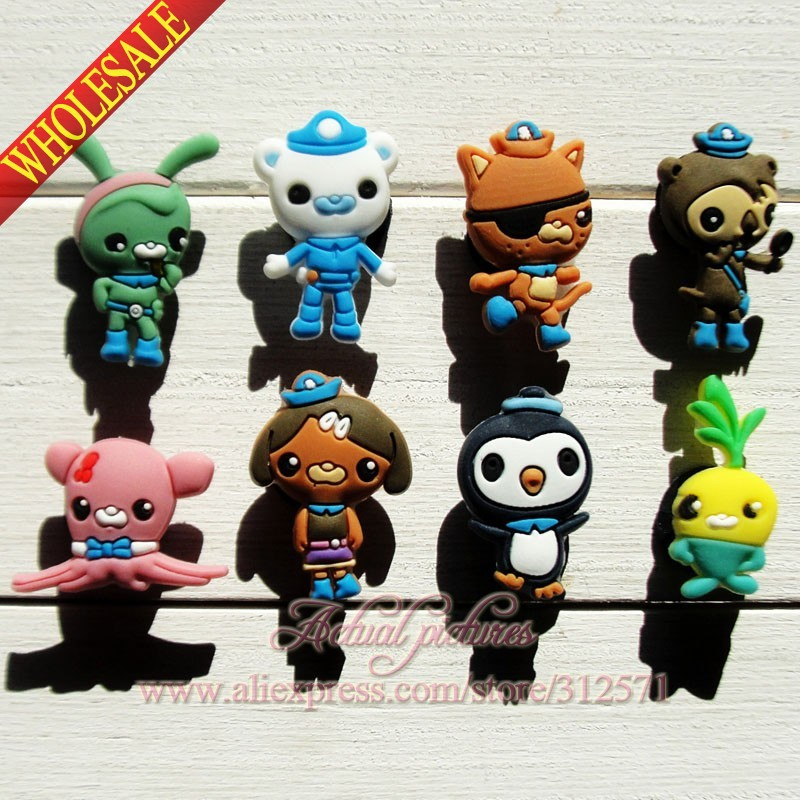 Free Shipping,16pcs The Octonauts  HYB103  PVC shoe charms shoe decoration/shoe accessories for clogs as gift for kids<br><br>Aliexpress