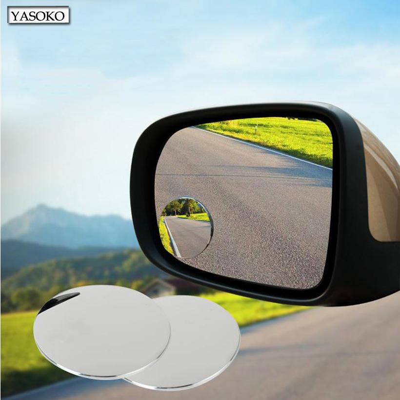 10 пара новые 360 град. безрамное ультратонкий слепое пятно зеркала заднего вида заднего широкий угол вокруг выпуклого зеркала для автомобилей грузовик