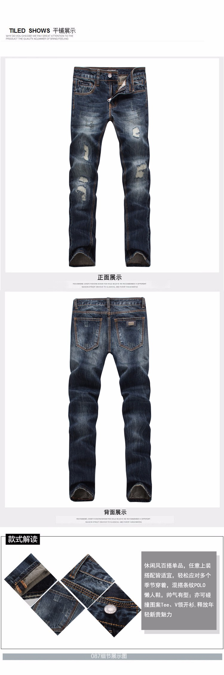 Скидки на Новые Маленькие ноги брюки бренд брюки мальчик джинсовые брюки Делают старые дизайнер