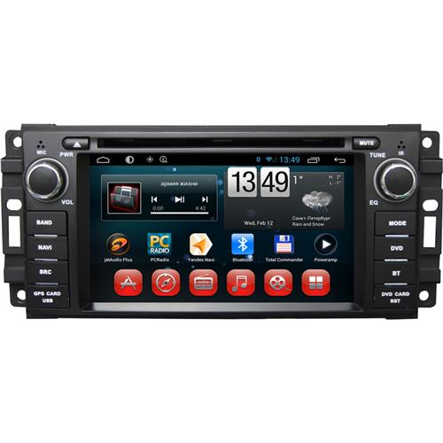 Android 4.4 indash Car DVD Players Special for CHRYSLER SEBRING 6.2 Inch Touch Screen Radio Car PC(China (Mainland))