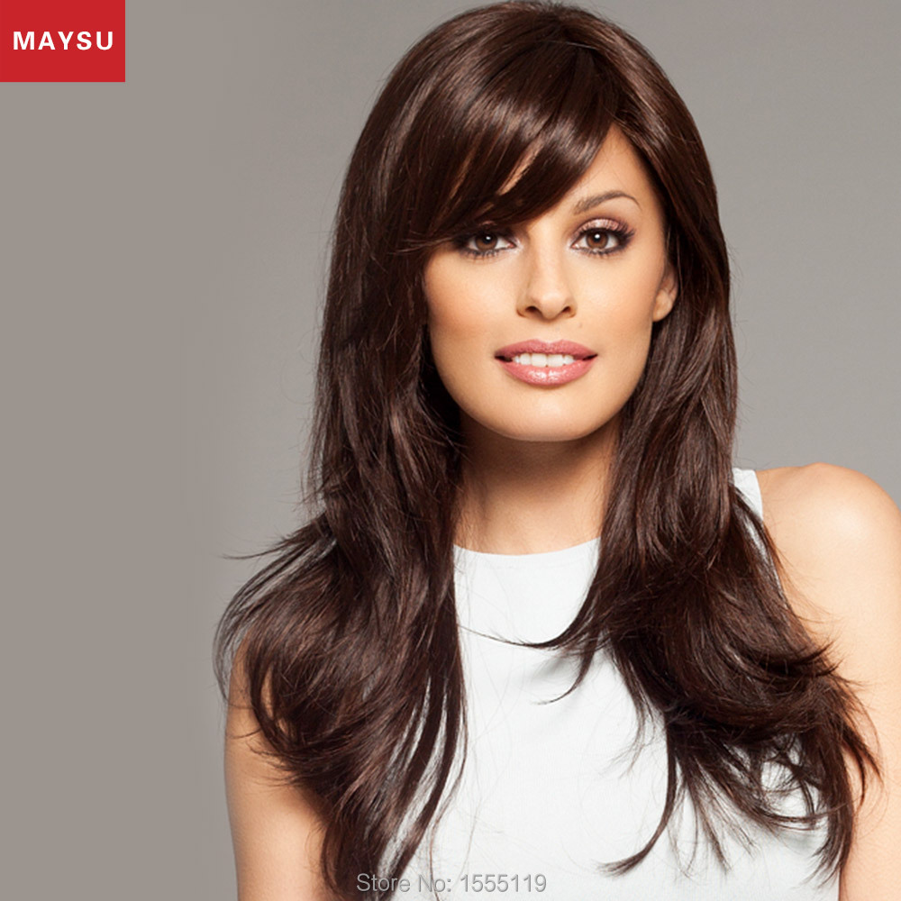 Thick Long Human Hair Wigs 13