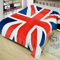 Queen Size 150x200cm New Union Jack British UK Flag Blanket US Flag Blankets Plush Fleece Blanket