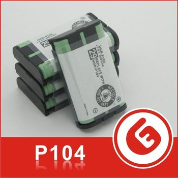 P-104 Ni-MH 3.6V 900mAh 5/4 AAA rechargeable batteries/Cells Packs/Cordless Phone Battery for Panasonic HHR-P104 HHR-P104A