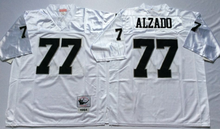 #12 Kenny Stabler #16 Jim Plunkett #32 marcus allen #34 Bo Jackson #42 Ronnie Lott #75 Howie Long for Throwback Oakland PIC(China (Mainland))