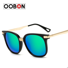 2017 New Fashion Luxury Brand Square Sunglasses Women Mirror Sun glasses Designers Women's Oculo de sol feminino - oobon Sunglass Store store