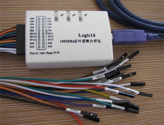Logic16 USB 100MHz Real-Time Logic Analyzers (Oscilloscopes)