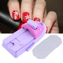 Hot!Nail Art Printing Nail Manicure Machine Stamper Nail Art Stamping DIY Set 6 Image Plates Worldwide sale(China (Mainland))