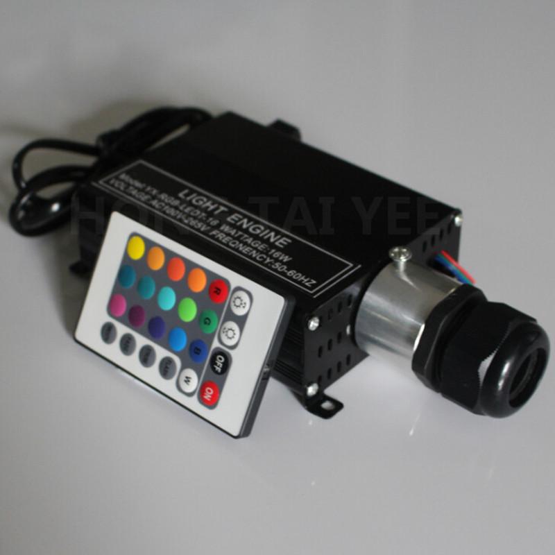 Aliexpress.com : Acquista Diy rgb 16 w led luce di soffitto in fibra ottica s...