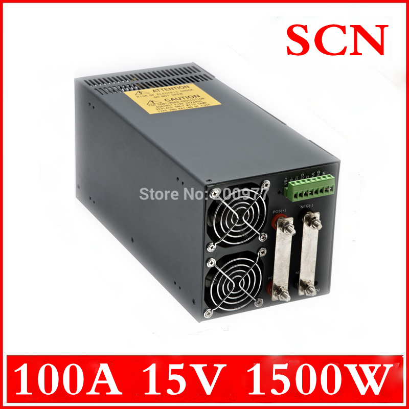 1500W 100A 15V  Single Output Switching power supply AC to DC 110V or 220V<br><br>Aliexpress