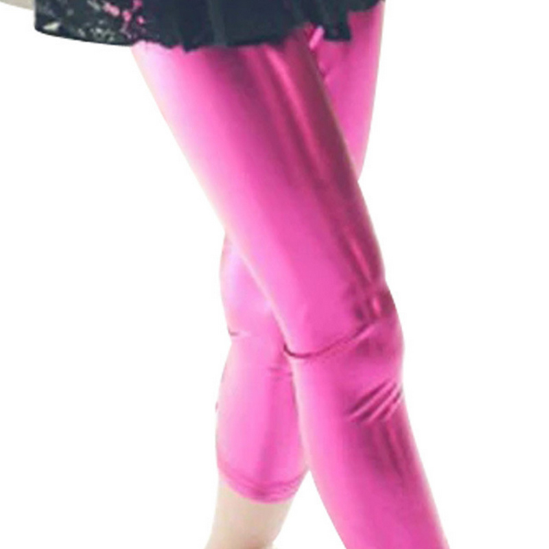 New girls  leggings in the fall special runs Candy-colored hot silver leggings F3027<br><br>Aliexpress