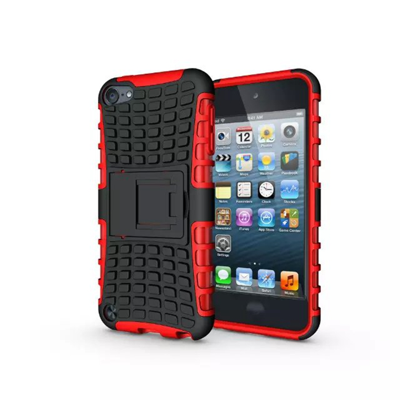 Rugged Spider Plastic Hybrid Heavy Duty Armor Phones Case Hard Shock Proof For Apple Ipod Touch 6 Back Cover(China (Mainland))