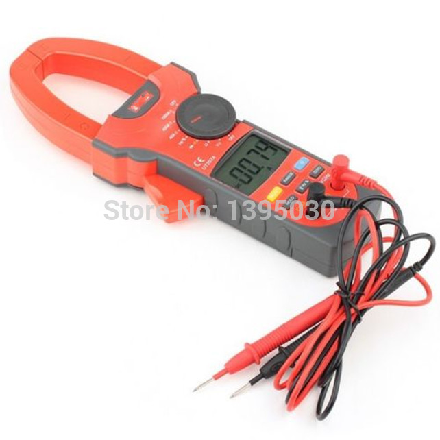 Фотография 1PC Free Shipping By DHL UT207A Clamp LCD Digital Multimeter AC DC Volt Amp Ohm Hz Tester With English Manual