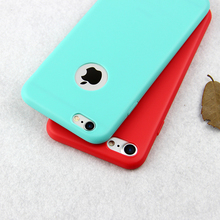 Fashion hot Candy colors silicone soft phone case for iphone 7 7 plus 5 5s se 6 6S plus Protect case cover coque fundas capinha(China (Mainland))