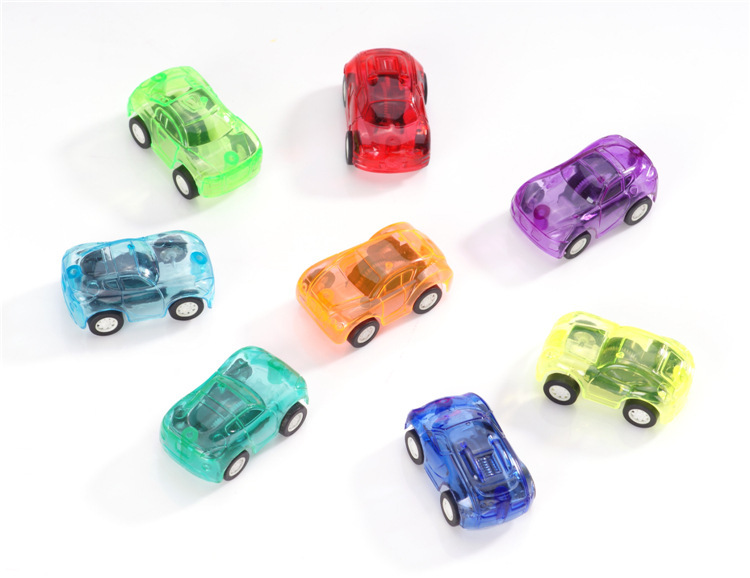 Hot Sale Cute Candy Color Toy Cars Best Christmas Gifts For Children Plastic Mini Car Model Kids Vehicles Toys For Boys(China (Mainland))