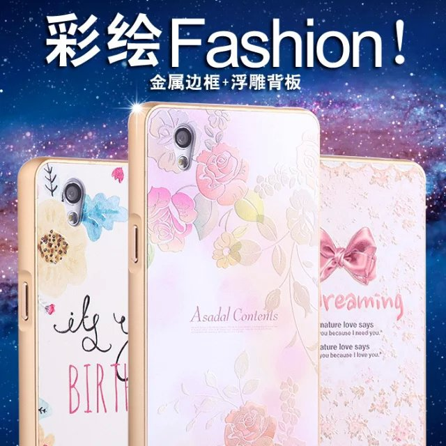 HOT Ultra-thin Luxury Aluminum Metal Acrylic Back Phone Cases Cover For Oppo A51(China (Mainland))