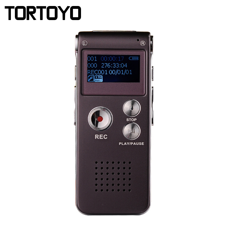 High Quality 8GB Mini Portable Conference Digital Voice Recorder MP3 Player Audio Playback Interview Far HD Smart Recording Pen(China (Mainland))