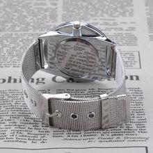 2015 New Luxury Brand Ladies Quartz Watch Women Dress Watches Women Men Full Stainless Steel Watch