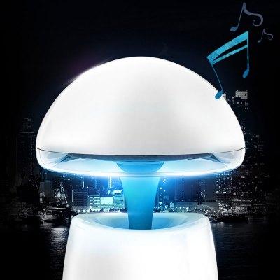 Фотография A LA Magic Lamp 3 in 1 Creative Wireless Bluetooth Speaker with Night Light Alarm Clock Function Support TF Card USB Input