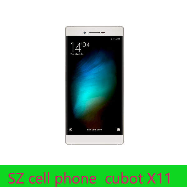 Original cubot X11 octa core MT6592 2G/16G 5.5 inch HD ips screen waterproof 13mp camera 3G WCDMA smart phone(China (Mainland))