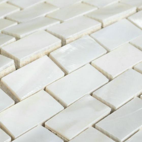 New arrvial mother of pearl tile thickening bathroom wall flooring brick subway kitchen backsplash mosaic shell bathtub tiles(China (Mainland))